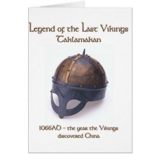 Viking Helmet 1066 Card
