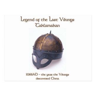 Viking Helmet 1066 Postcard