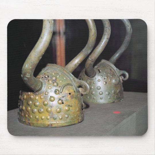 Viking helmet mouse pad