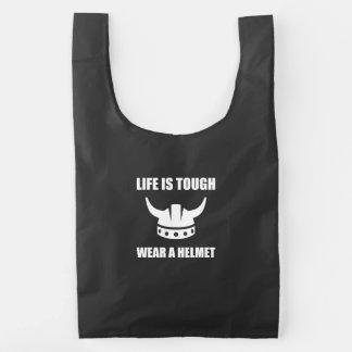 Viking Helmet Reusable Bag