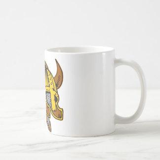 Viking Helmet, Sword & Shield Tattoo Coffee Mug
