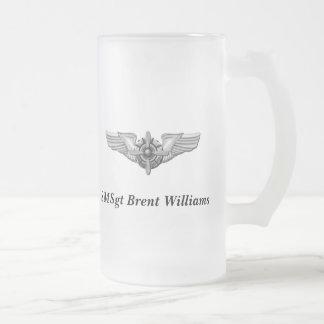 Viking Helmet Wings-Personalized Coffee Mugs