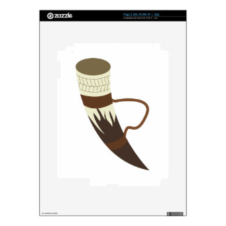 Viking Horn Decal For iPad 2