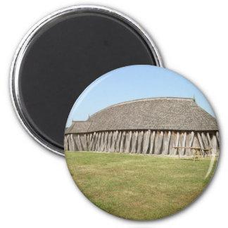 Viking House Magnet