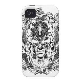 Viking Illustration iPhone 4 Cover