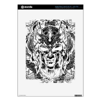 Viking Illustration Decals For iPad 3