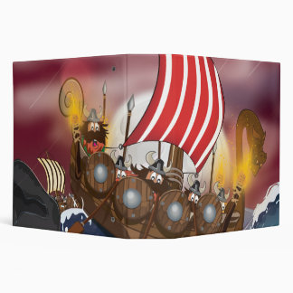 Viking Invasion Fleet Binder