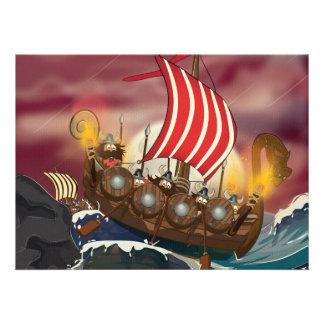 Viking Invasion Fleet Invites