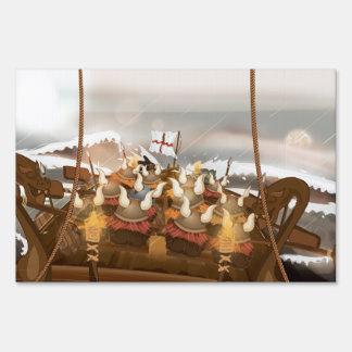 Viking Invasion Fleet Sign