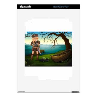 Viking iPad 2 Decal