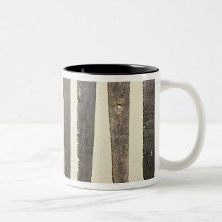 Viking iron blades for swords Two-Tone coffee mug