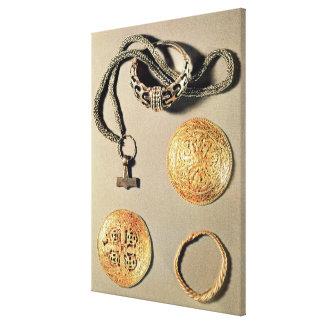 Viking jewellery TtoB LtoR Canvas Print
