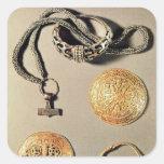 Viking jewellery TtoB LtoR Square Sticker