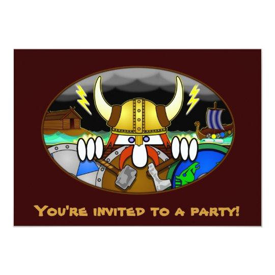 Viking Kilroy Invitations