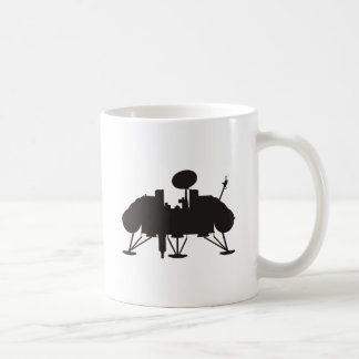 Viking Lander Classic White Coffee Mug