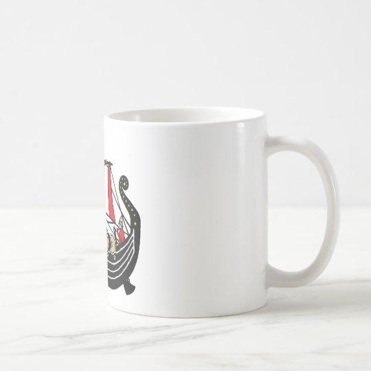 Viking Long Ship for Vikings Coffee Mug