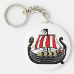 Viking Long Ship for Vikings Keychain