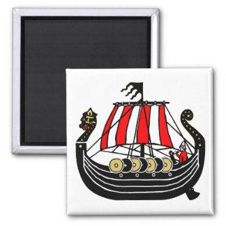 Viking Long Ship for Vikings Magnet
