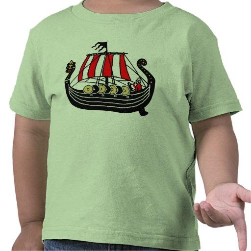 Viking Long Ship for Vikings Tee Shirt