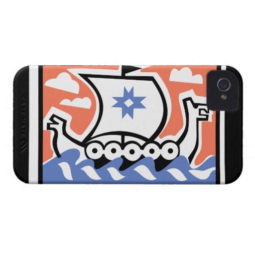 Viking Longboat iPhone 4 Cases