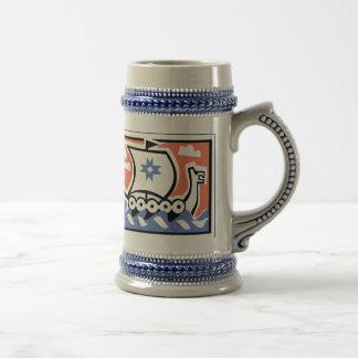 Viking Longboat Mugs