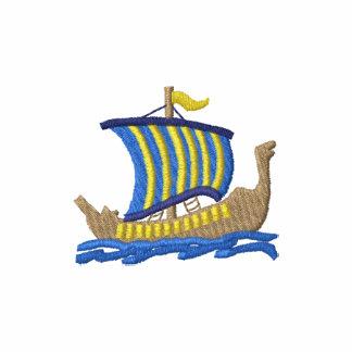 Viking Longship Camiseta Polo