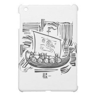 Viking LongShip Woodcut iPad Mini Cases