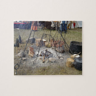 Viking Market Campfire Cooking Jigsaw Puzzles