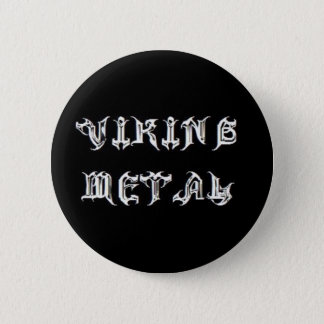 Viking Metal Button