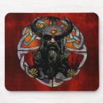 """Viking Mousepad<br><div class=""""desc"""">Norseman Mousepad.. Viking On Knot Design... </div>"""