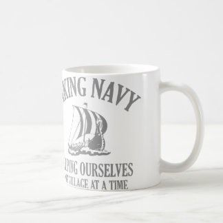 Viking Navy Coffee Mug