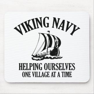 Viking Navy Mouse Pad