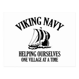 Viking Navy Postcard