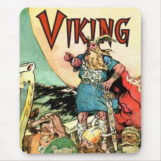 Viking Norse Gods Thor Hoodies Mouse Pad