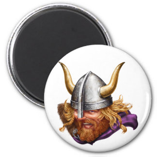 Viking, Norse, Norsemen 2 Inch Round Magnet