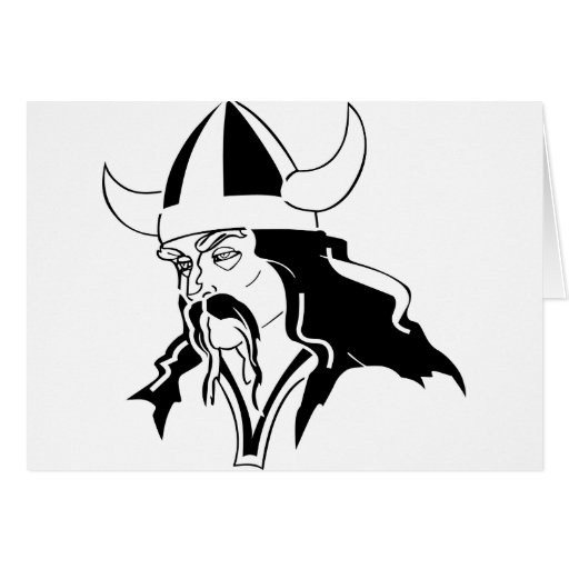 Viking  Norse  Norsemen Odin Thor Greeting Card