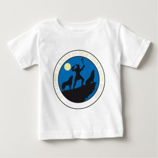 Viking of wolves raven Odin Baby T-Shirt
