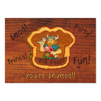 Viking Oktoberfest Feast Invitation