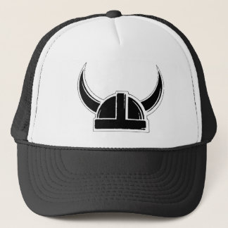 Viking on Funny history explorer helmet battle wa Trucker Hat