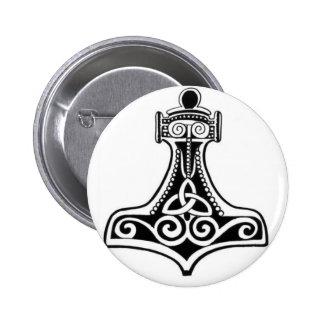 Viking Pin Redondo De 2 Pulgadas