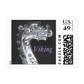 Viking Postage Stamp