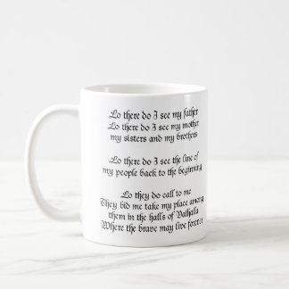 Viking Prayer Coffee Mug