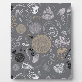Viking Primitive Plaque