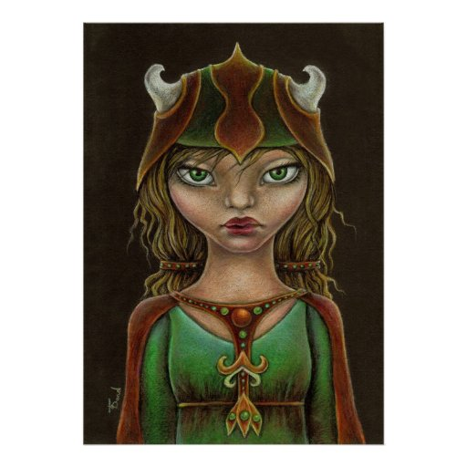 Viking princess posters | Zazzle