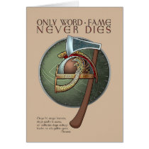 Viking Proverb Greeting Card