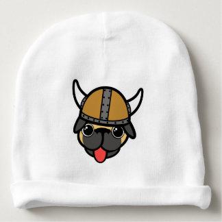 Viking Pug Baby Beanie