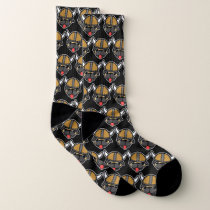 Viking Pug Black Socks