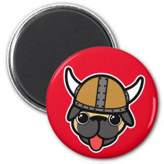 Viking Pug Magnet
