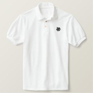 Viking Raven Banner Embroidered Shirt