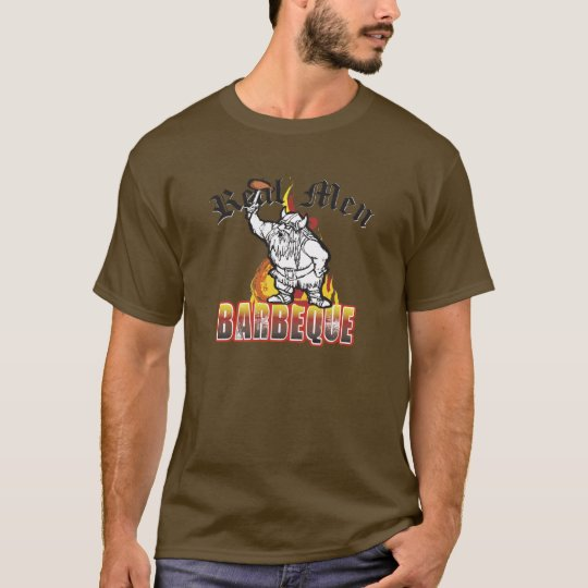 Viking Real Men Barbeque T-Shirt